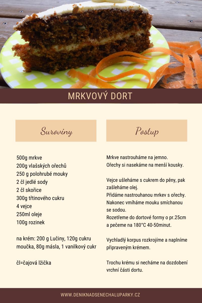 Výborný mrkvový dort