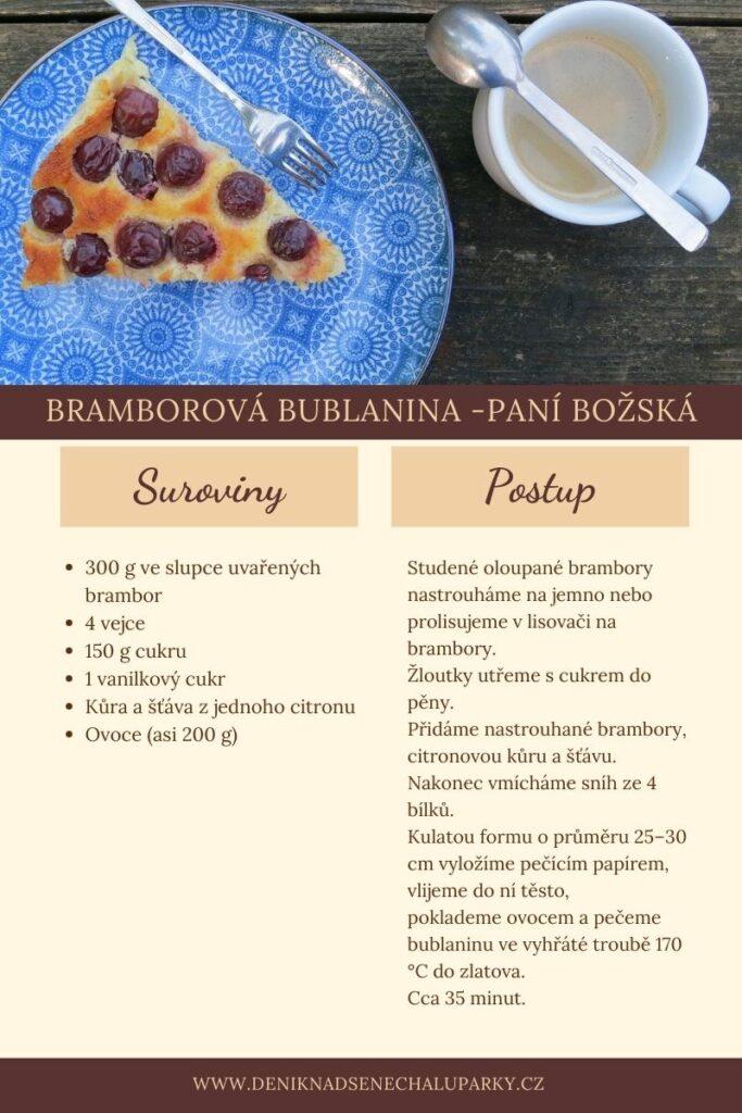 bramborová bublanina